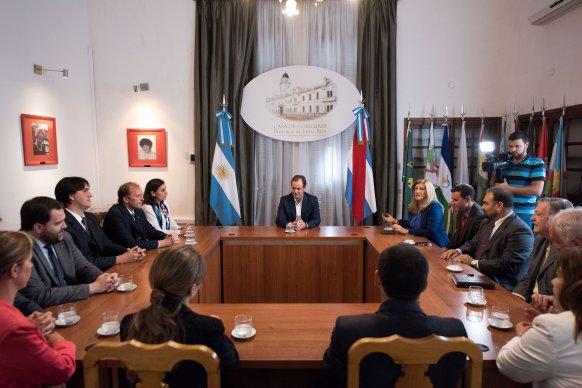 Bordet destacó la política de transparencia de su gestión ante el Colegio de Abogados de Paraná
