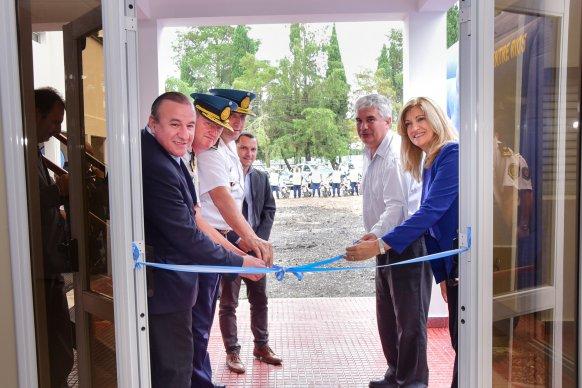Se inauguró la tercera etapa del Edificio de Prevención Vial en Oro Verde