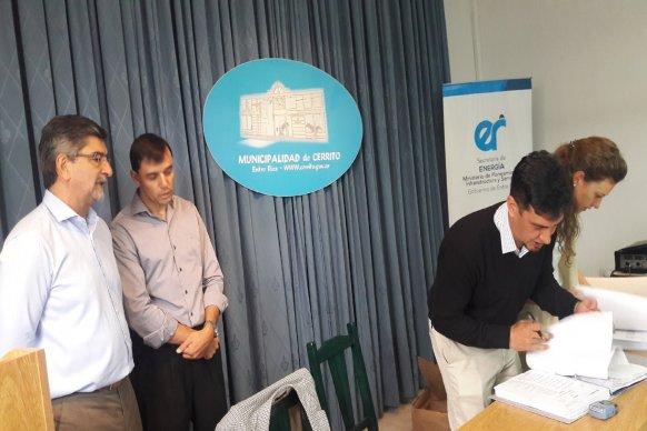 Licitaron la ampliación de red de gas natural en Cerrito