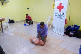 Continúan las capacitaciones en primeros auxilios para las zonales de Vialidad