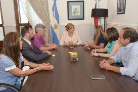 La ministra de Gobierno y el secretario de Trabajo de la provincia recibieron a autoridades de Nación