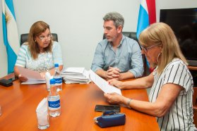 La provincia avanza con las tratativas para la pavimentación del acceso a Enrique Carbó
