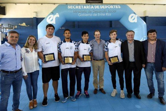 Reconocen  a los jóvenes deportistas entrerrianos que compitieron en los Juegos Evita y en los Olímpicos de la Juventud