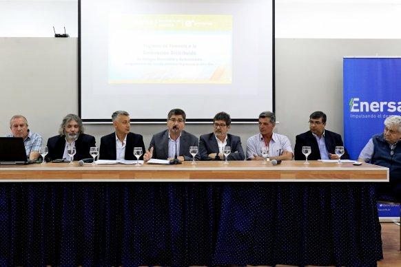 El gobierno promueve la creación de una Ley Provincial de Generación Distribuida