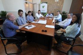 Se analizaron nuevos proyectos de obras barriales para Federal