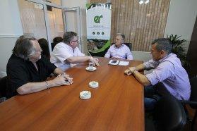 Se evaluaron nuevas obras y proyectos para la localidad de Alcaraz