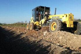Programa de conservación de caminos productivos en Seguí
