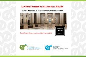 Se abre la inscripción para curso de Jurisprudencia de la Corte Suprema de Justicia de la Nación