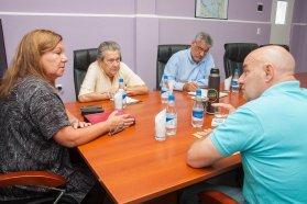 Repasaron obras viales en ejecución y proyectos del departamento Tala