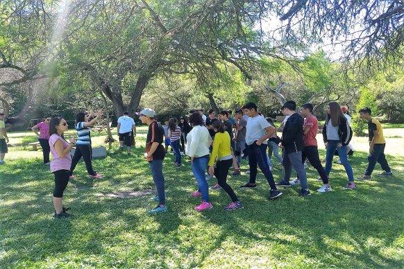 Estudiantes de Paraná participaron de un campamento recreativo