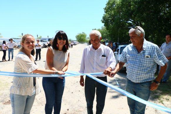 Quedó formalmente inaugurada la playa de Villa Urquiza