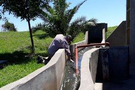 Realizaron monitoreo y toma de muestras de la planta de efluentes cloacales de Gualeguaychú
