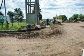 Avanza la obra de Cafesg en el barrio San Cayetano de Federación
