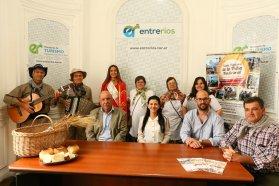 Santa Anita presentó la XX  Fiesta Provincial de la Trilla Tradicional