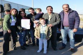 Con fondos provinciales construirán 15  viviendas en Basavilbaso