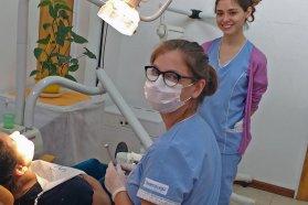 Se realizó un importante abordaje territorial de odontología en Villa Paranacito