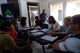 Familias de Galarza firmaron las escrituras de sus viviendas