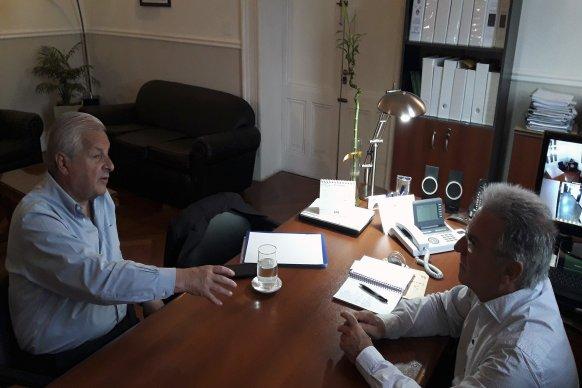 Benedetto y Lauritto realizaron un balance de los trabajos que realiza la provincia en Concepción del Uruguay