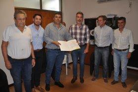 Pusieron en funciones el nuevo jefe de la zonal Gualeguaychú
