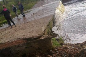 El gobierno asiste a las localidades afectadas por el temporal y releva los damnificados