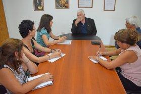 Autoridades de Salud abordaron la situación sanitaria de Colonia Avellaneda con su intendente