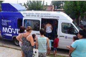 El Registro Civil móvil recorrió la provincia garantizando el acceso a la identidad de todos los entrerrianos