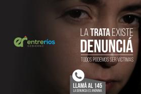 Valoran los resultados de la campaña contra la trata de personas en Entre Ríos