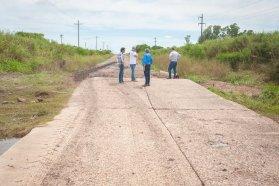 Coordinan tareas de mantenimiento del arroyo de Irazusta, en el departamento Gualeguaychú