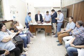 Salud y el municipio de Nogoyá acordaron cómo seguir adelante ante el fallecimiento de las dos nenas