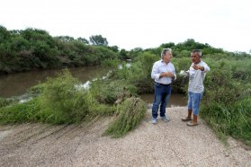 Planifican obras complementarias para evitar mayores inundaciones