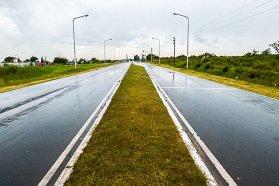 Pese al mal tiempo no se registran cortes en rutas pavimentadas