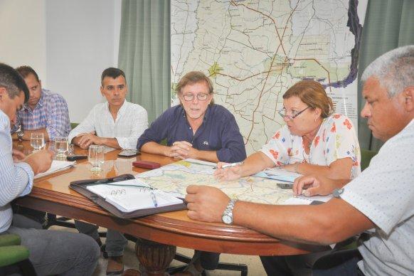 Planificaron un plan de obras de conservación para la red vial secundaria y terciaria del departamento Gualeguaychú