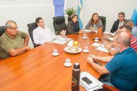 Proyectan mejoras en la red caminera de los departamentos Nogoyá y Tala