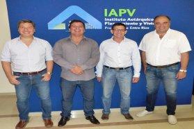 Planifican viviendas con fondos provinciales para una pequeña comunidad rural de Paraná Campaña