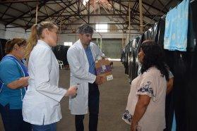 Salud asiste a los territorios entrerrianos afectados por las inundaciones
