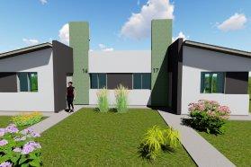 La provincia comenzó la construcción de nuevas viviendas en Basavilbaso y Rocamora