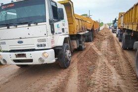 Vialidad realiza tareas de mantenimiento en zonas afectadas por las lluvias