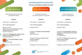 Este lunes se abre la inscripción para las Jornadas Regionales de Educación
