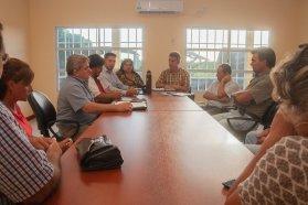 Coordinan mejoras viales con juntas de gobierno del departamento Federal