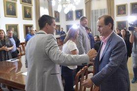 La provincia cedió en comodato al municipio de Concordia los terrenos del polideportivo municipal