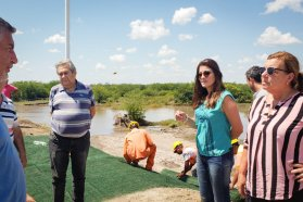Avanza con fondos de la provincia la rehabilitación del Acceso Sur a Villaguay