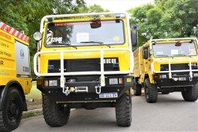 La Brigada Forestal de la Policía de Entre Ríos recibió una autobomba para el manejo de fuego