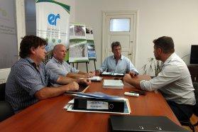 La provincia avanza en un proyecto de saneamiento para tres barrios en Federal