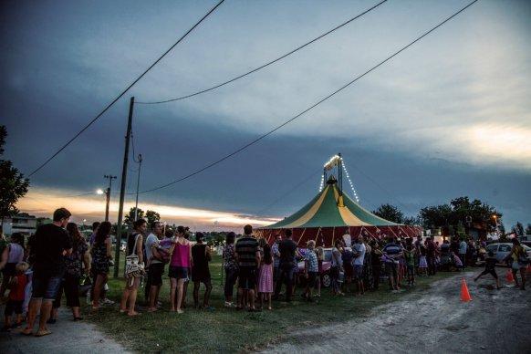 Este fin de semana estará la carpa de circo y teatro La Moringa en Valle María
