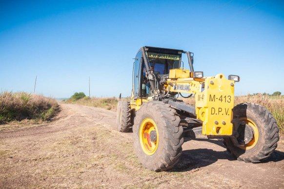 Vecinos y productores de Aldea Eingenfeld resaltaron las mejoras en los caminos productivos