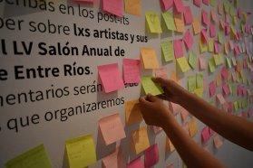 Con un conversatorio y música cierra el LV Salón Anual de Artistas Plásticos de Entre Ríos