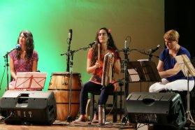Artistas entrerrianas conmemoraron el Mes de la Mujer con un concierto