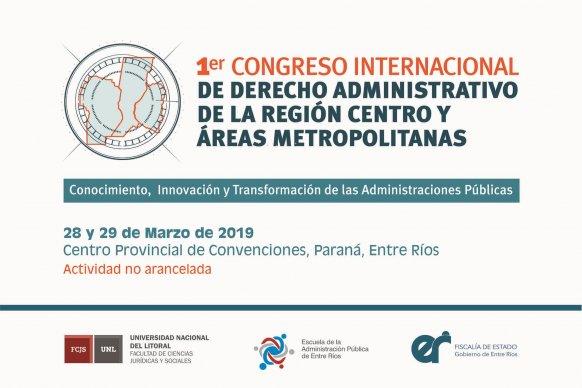 Se realizará el primer Congreso Internacional de Derecho Administrativo de la Región Centro y Áreas Metropolitanas