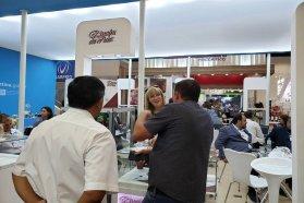 Bebidas y lácteos entrerrianos fueron la oferta provincial en Anufood Brasil