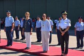 El gobierno provincial acompañó el aniversario 70 de la II Brigada Aérea de Paraná